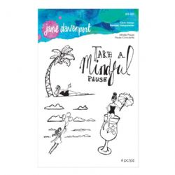 Jane Davenport - Artomology - Clear Stamp Set - Mindful Pause